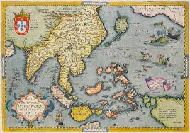 Antique Map Of East Indies By Ortelius