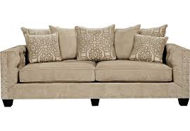 Cindy Crawford Microfiber Sectional Sofa by Cindy Crawford Home Sidney Road Taupe Sofa Sofas Beige