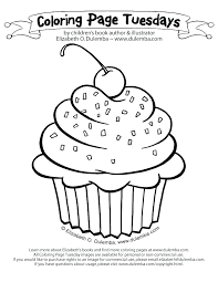 cupcake template to color cupcake coloring page printable birthday cupcake coloring page for kids big coloring cupcake template to color