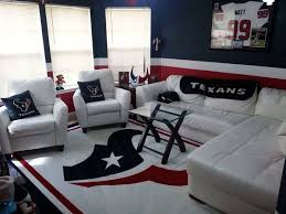 Dallas Cowboys Room Decor Ideas by 35 Best Houston Texans Wo Man Caves And Rooms Images On
