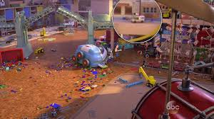 100 Pizza Planet Truck Incredibles Toy Story That Time Forgot Easter Eggs Include