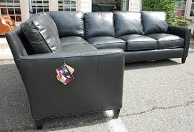 Bradington Young Leather Sectional Sofa by B Y 508 92 508 94 Yorba Sectional In Leather 9012 99 Ap