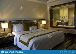 schönes schlafzimmer im wohnkondomunium wohnung haus mit