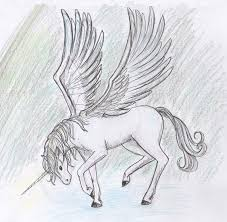 Drawings Drawing Ideas Unicorn Awesome Cute Easy To In Cool