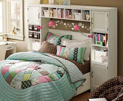 BedroomGirl Bedroom Design Cute Decoration Soft Color Small Cabinet Colorful Dream Room For Teenage Girl
