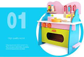 cuisine en jouet nouveau design en bois cuisine jouet fille de jeu en bois cuisine