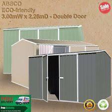 Absco Sheds Mitre 10 by Absco Garden U0026 Storage Sheds Ebay