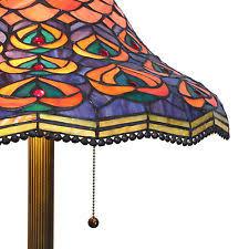 Tiffany Style Glass Torchiere Floor Lamp by Tiffany Floor Lamp Ebay