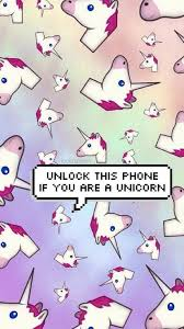 Wallpaper Lockscreen Cute Unicorn
