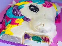 einhorn torte ohne fondant ofenkieker