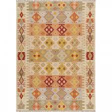 Modern Boho Aztec Hand Tufted Wool Rug Sultan By Sitap