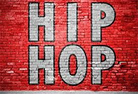 CSFOTO 8x6ft Background For Hip Hop Painted On Red Brick Wall Photography Backdrop Rock Music Hobby