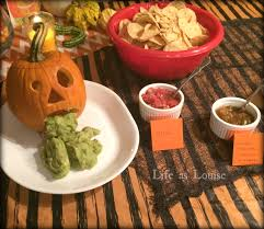 Puking Pumpkin Guacamole Dip by Dress Up U2013 Life As Louise