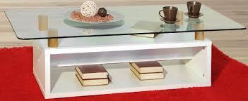 couchtisch sofatisch mit glasplatte wohnzimmertisch weiss 1231