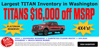 100 Used Trucks For Sale In Washington State Kirkland Nissan Seattle Nissan Your New Seattle Nissan Dealer New