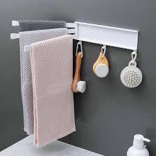 nicht bohren rotary handtuch rack wc stick handtuch rack