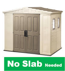 8x6 Storage Shed Plans by Storage Shed Plans With Garage Door Plastic Garden Shed 8x6