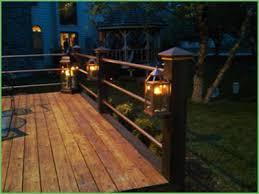 lighting deck post lights solar deck post lights amazon deck