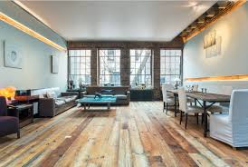 light wood floors with furniture