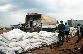 100 National Truck Breakdown Workers With The Entebbe International Airport Breakdown Pallets