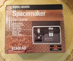 nos vintage 1980s black and decker spacemaker under cabinet can