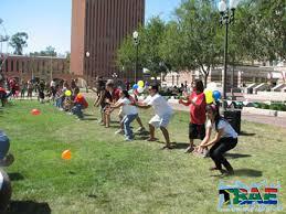 Water Balloon Tos Team Building Exercise