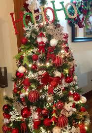 Burgundy And Gold Christmas Tree