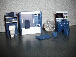 royal blue bathroom accessories