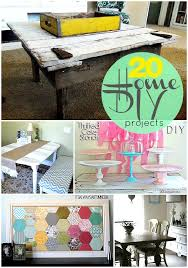 Great Ideas 20 Home DIY Projects To Make NOW