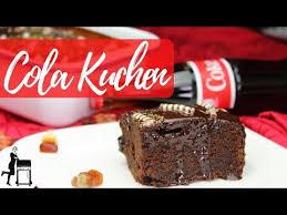 cola kuchen rezept schokokuchen für grill backofen