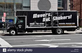 100 Funny Truck Names A Green Flat Fee Moving Company Van With A Funny Name On 4th Avenue