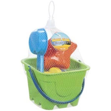 Sand Bucket Play Set - Color and Style May Vary, 4pcs