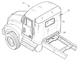 Patent US6178612 - Method Of Converting A Truck Sleeper Cab To A Day ...