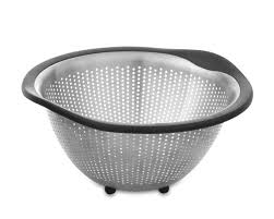 Over The Sink Colander by Oxo Stainless Steel Colander Williams Sonoma