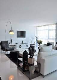 schwarz weiß wohnzimmer ideen gestaltung mit farben fliesen