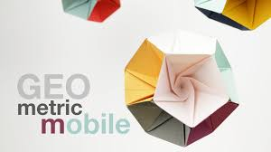 How To Make A Geometric Mobile DIY Tutorial This Takes The Form Of Regular Dodecahedron One Most Interesting