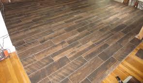 tile ideas lowes wood look tile rectified wood tile porcelain