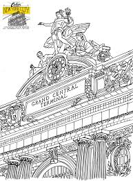 Free New York City Coloring Page Printable