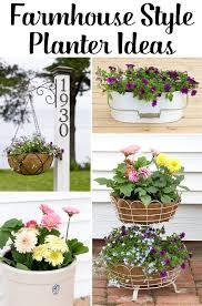 5 Easy Farmhouse Planter Ideas