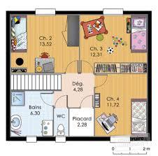 plan maison 4 chambres etage grande maison familiale dé du plan de grande maison familiale