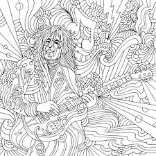 321 Best Music Coloring Pages For Adults Images On Pinterest