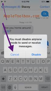 How to send receive iMessages in airplane mode AppleToolBox