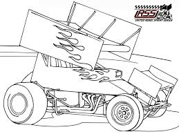 Sprint Car Coloring Pages 3a9c5e22be