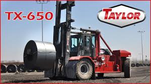 Taylor TX-650L And TX-650S - Servicing The Steel Industry - YouTube Forklift For Sales Rent 2016 New Taylor X360m Laval Fork Lifts Lift Trucks Cropac Hanlon Wright Versa 55000 Lb Tx550rc Sale Tehandlers About Us Industrial Cstruction Equipment Photo Gallery Forklifts 800lb To 1000lb Royal Riglift Call 616 Taylor New England Truck Material Handling Dealer X450s Fowlers Machinery
