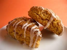 Starbucks Pumpkin Spice Scone Recipe by Harvest Pumpkin Scones With Pumpkin Spice Ginger Glaze Goodies