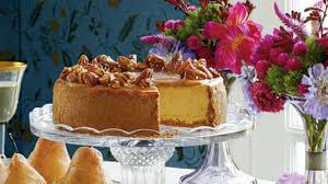 Pumpkin Pie With Pecan Praline Topping by Southern Living Recipes November 2011 Southern Living