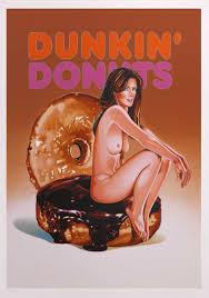 Pumpkin Dunkin Donuts by Mel Ramos