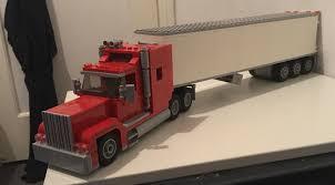 100 Semi Truck Trailers American Semi Truck MOC Lego
