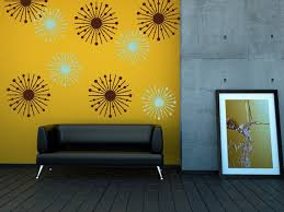 Atomic Starburst College Dorm Decorations Mid Century Modern