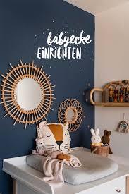 unsere babyecke im elternschlafzimmer mini stil kinder